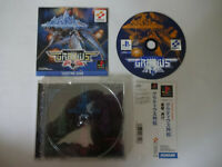 "Sony PlayStation 1 Game Software ""GRADIUS GAIDEN"" PS1 NTSC-J w/Obi Japan Import"