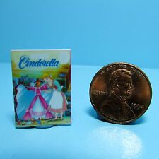Dollhouse Miniature Replica of Book Disney Cinderella ~ B023