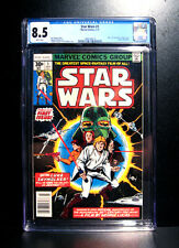 COMICS: Marvel: Star Wars #1 (1977), 1st Luke/Obi-Wan/Leia/Vader/etc - CGC 8.5