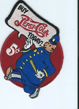 """Buy Pepsi Cola Today """"Wimpie"""" driver patch 3-1/2 X 3-1/2 #2578"""