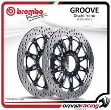 Coppia dischi Freno anteriore Brembo The Groove 300mm per Kawasaki Z750R 2011>