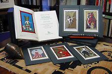 U. Giovannini, Tarocchi di Sigismondo, xilografie orig. a più col. Tarot deck.