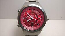 Seiko SUS Sporty Red SCFJ003 6M26-6020 Alarm Chrono Timer Mecha-Quartz; Box