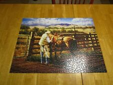 INDIAN SUMMER ~ 1000 PC PUZZLE FROM SERENDIPITY, ART BY J.D. BUGG, EUC, COMPLETE