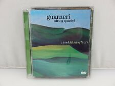 Guarneri String Quartet Ravel Debussy Faure DVD AUDIO 24/192 Stereo Mix