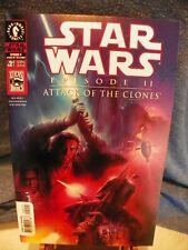 Dark Horse Comics April 2002 Star Wars Episode II Attack of the Clones #2 of 4