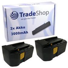 2x Batterie haute performance 24v 3000mah pour Hilti b24 ECOSOC wsc