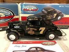 Action 1940 Ray Fox #7 Cox Motor Co. Ford Coupe 1/24