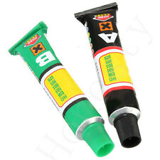 Super Strong Epoxy Clear Glue Adhesive 10g A+B w/Free Spatula Phone Case Craft
