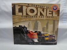 A Century of Lionel Timeless Toy Trains..Dan Ponzol &  Bill Milne..Hard Cover LN