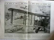 1917 Aerial Battle At 12,000 Feet Above Western Front