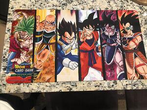 Dragon Ball Super Card Game Regional Saiyan Warrior Playmat
