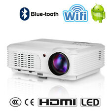 New listing Eug Full Hd Led Smart Projector Video Home Theater Film Hdmi Airplay Zoom Us