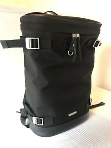 Saint Laurent Canvas Rivington Backpack Rucksack Black Canvas Bag