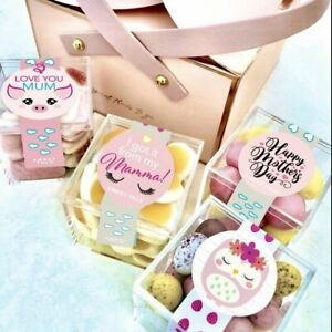 """Mothers Day """"Oh MAMA!"""" Candy & Chocolate Gift Box - 4 Candy Cubes Bundle"""
