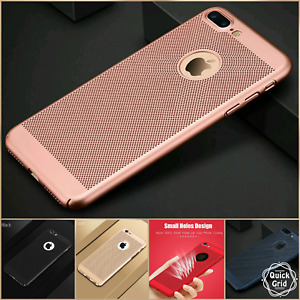 Luxury Ultra-thin Cooling Breathing Hard Case Cover iPhone X 6 6s 6P 6sP 7 7P 8P