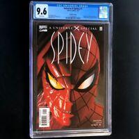 Universe X Spidey #1 💥 CGC 9.6 💥 RECALLED SLANDER VARIANT Marvel Comic 2001