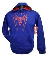 Marvel Mens Spiderman Hoodie NWT S