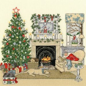 Bothy Threads Cross Stitch Kit - Christmas Eve
