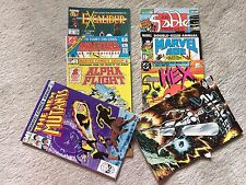 All First Editions - fun lot - including THE NEW MUTANTS - DC, Marvel