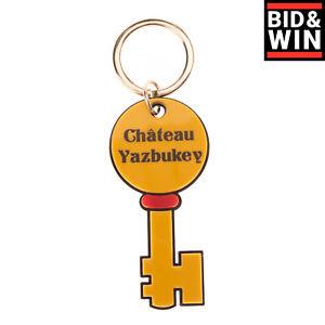 YAZBUKEY X COLETTE Keyring Printed 'Chateau' Key Shape