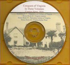 Conquest of Virginia - In Three Volumes 1924-1939