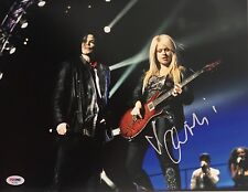 Orianthi Panagaris Signed Auto 11x14 Photo Sambora Michael Jackson Psa/Dna