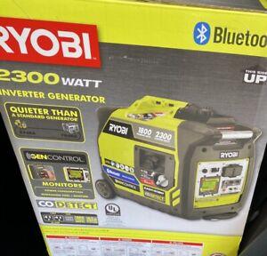 RYOBI 2300Watt Recoil Start Bluetooth Super Quiet GasPowerd Inverter Generator