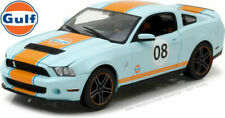 Voitures, camions et fourgons miniatures bleus Shelby 1:18