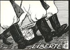 POSTCARD / CARTE POSTALE Parti republicain Pologne,Lech Walesa,Solidarnosc