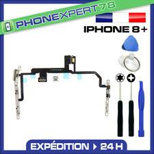NAPPE BOUTON POWER + VOLUME + FLASH + MICRO POUR IPHONE 8 PLUS + KIT OUTILS