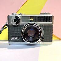Fujica Half 1.9 35mm Half Frame Camera W F/1.9 33mm Lens & Original Case Lomo