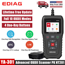 Automotive OBD2 Scanner Code Reader Car Check Engine Fault Diagnostic Scan Tool