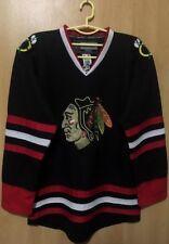 NHL CHICAGO BLACKHAWKS USA ICE HOCKEY JERSEY PLAYER ISSUE REEBOK