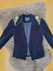 Mason Scotch Ladies Jacket Size 2 Velvet