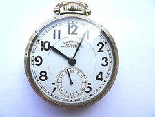 Hamilton Model 950B 16 Size 23 Jewel Railway Special Lever Set Railroad Watch