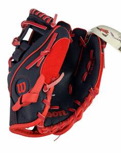 "Wilson MLB Boston Red Sox Youth 10"" Teeball Baseball Glove Ages 7 & Under NEW"