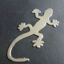 Lizard Gecko Silver Chrome Badge Decal Sticker for Audi TT TTS Q3 Q5 Q7 Quattro