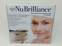 NuBrilliance Real Microdermabrasion At-Home System - NEW