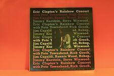 ERIC CLAPTON'S RAINBOW CONCERT - 1973 RSO A/A MATRIX 1ST EX LP VINYL RECORD -W