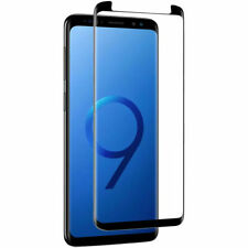 Samsung Galaxy S9 Panzer Glas Schutzglas Full Screen Curved Tempered Glass 9H 4D