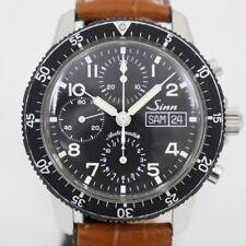 Sinn103 Chronograph Men's Wrist Watch Self-winding Black Dial Day & Date 40mm