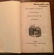 ' Pharmacopoeia Collegii Regalis Medicorum Londinensis ' : 1851 Edition. Latin