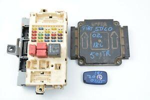 Fiat Stilo ECU GE113383 46791885 1.8 16V Control Module Unit Ignition Kit Set