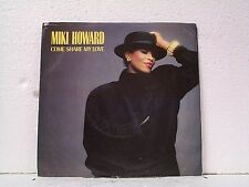 """MIKI HOWARD """"COME SHARE MY LOVE / SAME""""  45wPS PROMO MINT"""