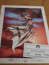 SOULFIRE print (stampa) lim.150 ex. SIGNED Michael Turner Fathom/Aspen/Witchblade