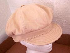 FALLS CREEK vintage cabbie cap medium fat button hat