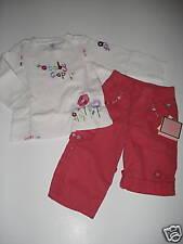 NWT Baby Gap Treehouse Logo Top Pink Pants 12-18-24