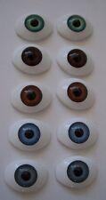 5 pr x New Acrylic Doll Eyes - 18mm - Set Lot - Cheap!