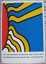 Nicholas Krushenick  ~50th Anniversary Exhibition 1966~ Mini Poster
